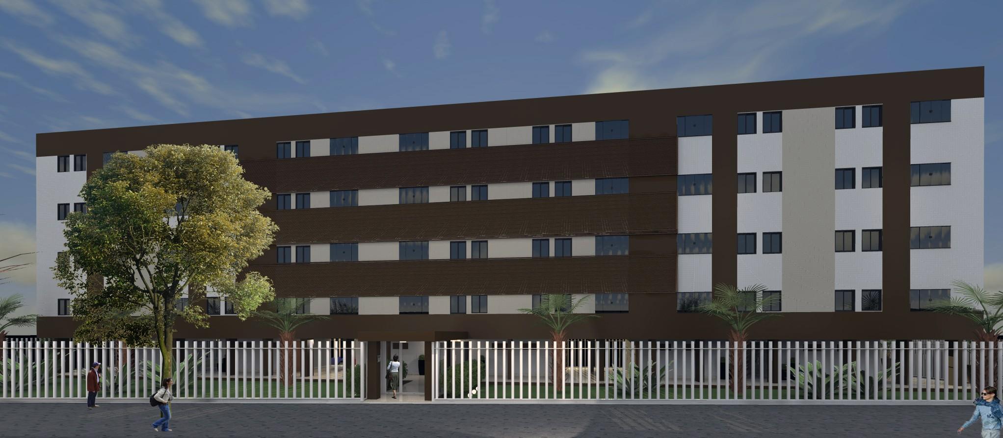 Reforma de Fachada e Portarias em Edifício Residencial